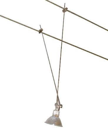 Spot fil tendu gu type 2 20cm ref luxna lx34112 - Spot cable tendu ...